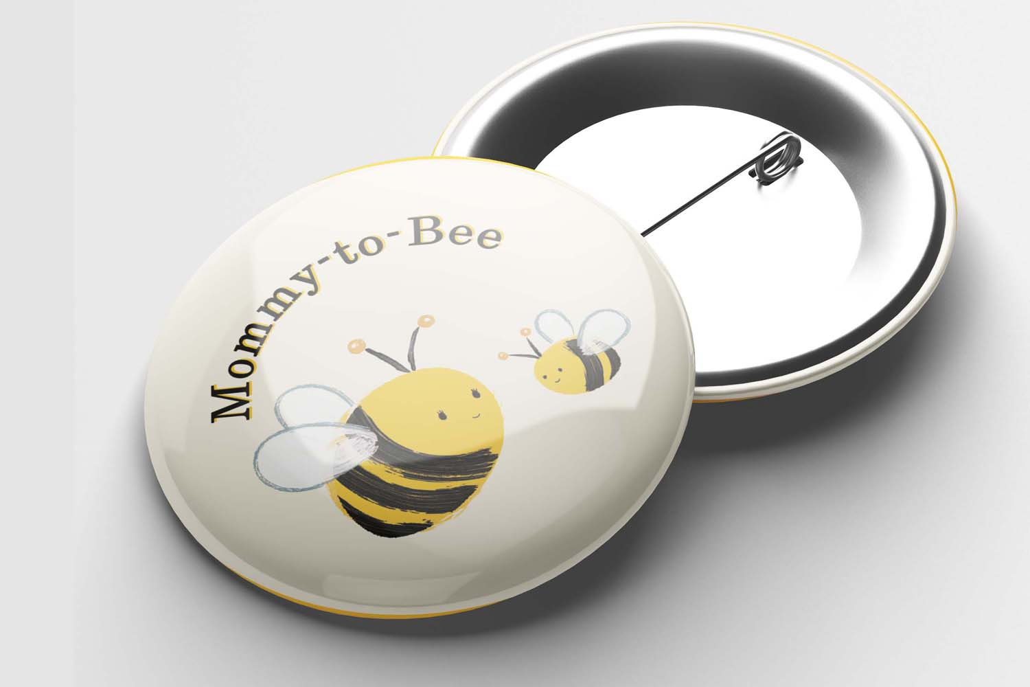 Bee Button Pin